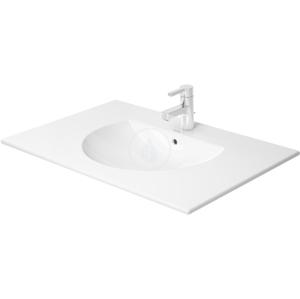 DURAVIT - Darling New Umývadlo do nábytku s prepadom, 830 mm x 545 mm, biele – jednootvorové umývadlo (0499830000)