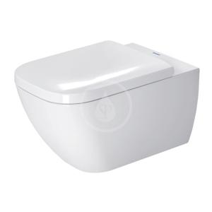 DURAVIT - Happy D.2 Závesné WC, s HygieneGlaze, alpská biela (2221092000)