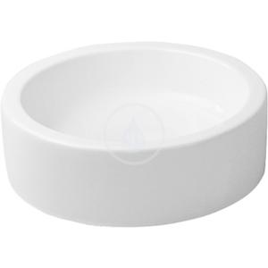 DURAVIT - Starck 1 Bezotvorová umývadlová misa bez prepadu, brúsená, priemer 460 mm, biela – umývadlová misa (0445460000)