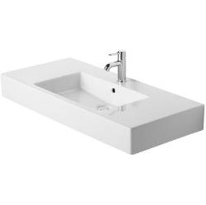 DURAVIT - Vero Bezotvorové umývadlo do nábytku s prepadom, 1050 mm x 490 mm, biele (0329100060)