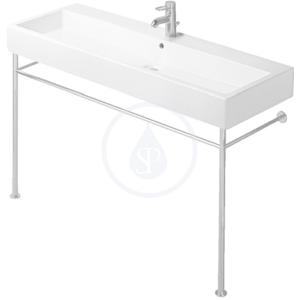 DURAVIT - Vero Kovový podstavec na umývadlo, chróm – podstavec pre umývadlo Vero 045470 (0030751000)