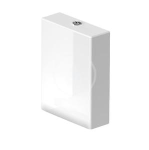DURAVIT - Viu Splachovací nádržka 485x375x130 mm, boční přívod, Dual Flush, s WonderGliss, alpská bílá (09420000851)
