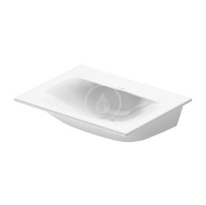 DURAVIT - Viu Umývátko 450x320 mm, s WonderGliss, alpská bílá (07334500701)