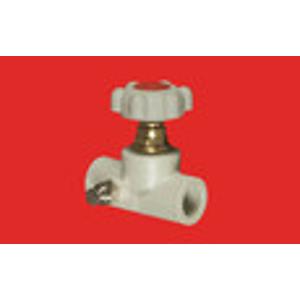 FV - Plast - PPR ventil přímý 20 s výpustí a MOSAZNÝM vrškem s kolečkem AA275020000 (305020)