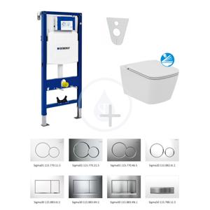 GEBERIT - Duofix Súprava na závesné WC + klozet a sedadlo softclose Ideal Standard Mia – súprava s tlačidlom Sigma01, chróm (111.300.00.5 NG2)
