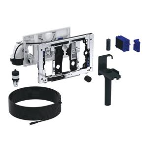 GEBERIT DuoFresh jednotka odsávania zápachu s manuálnym spúšťaním a dávkovačom pre tyčinku DuoFresh, pre Sigma 12 cm (115.051.21.1)
