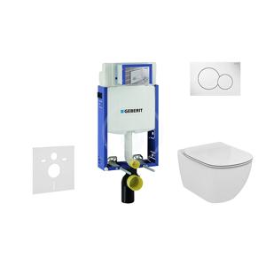 GEBERIT - Kombifix Súprava predstenovej inštalácie, klozetu a sedadla Ideal Standard, tlačidla Sigma01, Aquablade, SoftClose, alpská biela (110.302.00.5 NU1)