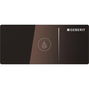 GEBERIT - Omega70 Ovládacie tlačidlo OMEGA70, na nádržky OMEGA, hnedé sklo (115.083.SQ.1)