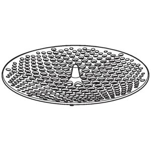 GEBERIT - Příslušenství Pisoárové sitko na sifónový adaptér, priemer 103 mm – 125 mm (116.067.00.1)