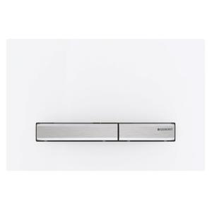 GEBERIT SIGMA50 ovládací tlačítko, pro 2 množství splachování, bílá (115.788.11.2)