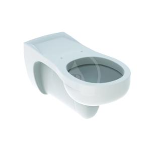 GEBERIT - Vitalis Závesné WC, 355 mm x 700 mm, biele - klozet, s KeraTect (201500600)