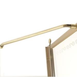 GELCO - ANTIQUE vzpěra k zástěnám, bronz (GQV320)