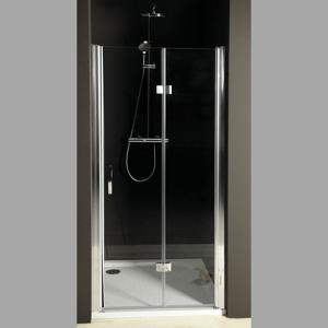 GELCO - ONE sprchové dvere skladacie 900 mm, pravé, číre sklo (GO7990R)