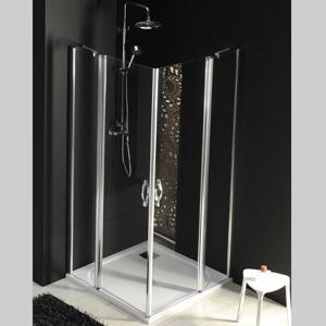 GELCO - One štvorcová sprchová zástena 1000x1000mm L/P varianta,rohový vstup (GO4810GO4810)