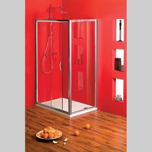 GELCO - Sigma obdĺžniková sprchová zástena 1100x1000mm L/P varianta,číre sklo (SG1241SG1570)