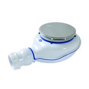 GLYNWED - SANIT sifon pro sprchovíé vaničky 90mm chrom-plast v.80mm TURBOFLOW2 (0205700)