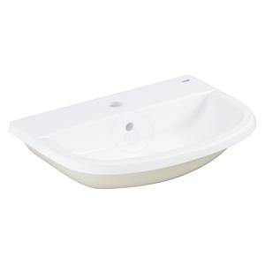 GROHE - Bau Ceramic Umývadlo s prepadom, 560 mmx400 mm, alpská biela (39422000)