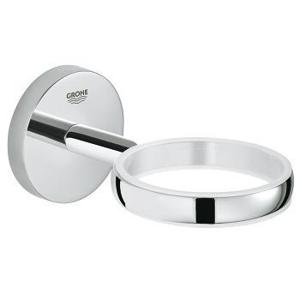 GROHE - BauCosmopolitan Držiak pohára/misky na mydlo, chróm (40585001)
