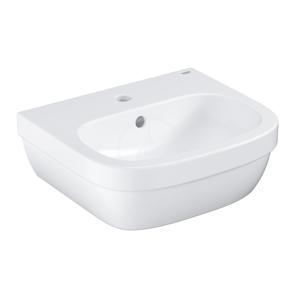 GROHE - Euro Ceramic Umývadlo s prepadom, 450 mm x 400 mm, PureGuard, alpská biela (3932400H)