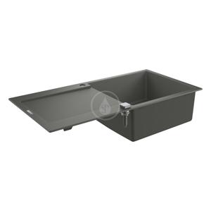 GROHE GROHE - Dřezy Kompozitní dřez K500 s automatickým odtokem, 1000x500 mm, granitová šedá (31645AT0)
