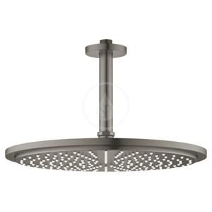 GROHE - Rainshower Cosmopolitan Hlavová sprcha 310, sprchové rameno 142 mm, 1 prúd, kefovaný tmavý grafit (26067AL0)