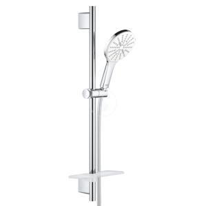 GROHE - Rainshower SmartActive Súprava sprchovej hlavice 130 9,5 l/min, 3 prúdy, tyče 600 mm a hadice, mesačná biela (26577LS0)