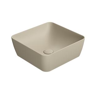 GSI - SAND umývadlo na dosku 38x38 cm, creta mat (903808)