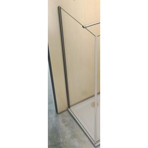 H K - Pevná boční stěna MELODY F1 100x195cm, výplň sklo - grape (SE- MELODYF1100-19)