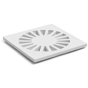 HACO Mřížka plastová 100x100 - bílá HCN5002 (HCN5002)