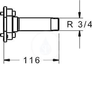 HANSA - Bluebox Preplachovacia zátka (59914185)