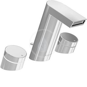 HANSA - Stela Umývadlová 3-otvorová batéria, chróm (57202203)