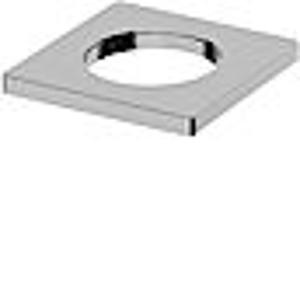 HANSALIVING X podložka hranatá 55 x 55 mm, kryt příruby 66360000 (HA66360000)