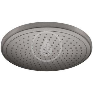 HANSGROHE - Croma Hlavová sprcha 280, EcoSmart, kartáčovaný černý chrom (26221340)