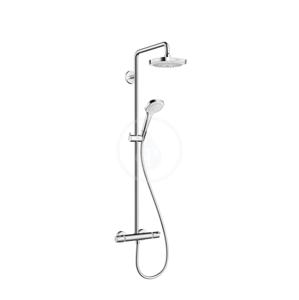 HANSGROHE - Croma Select E Sprchová súprava 180 2jet Showerpipe, biela/chróm (27256400)