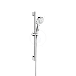 HANSGROHE - Croma Select E Sprchová súprava Vario EcoSmart 9 l/min 0,65 m, biela/chróm (26583400)