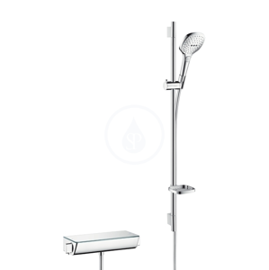 HANSGROHE HANSGROHE - Raindance Select E Sprchový set 120 s termostatem Ecostat Select, 3 proudy, chrom (27039000)