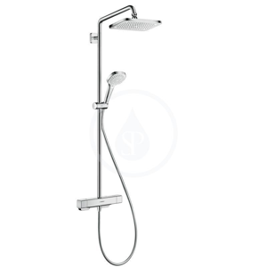 HANSGROHE HANSGROHE - Croma Sprchový set Showerpipe s termostatom, 1 jet, chróm (27630000)