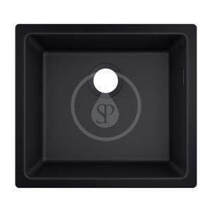 HANSGROHE HANSGROHE - Dřezy Podstavný granitový drez S510-U450, grafitová čierna (43431170)