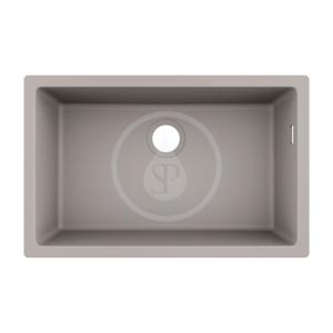 HANSGROHE HANSGROHE - Dřezy Podstavný granitový drez S510-U660, betónová sivá (43432380)