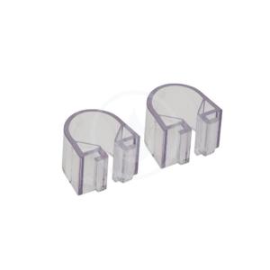 HANSGROHE - Příslušenství Svorky priemer 25 mm na misky na mydlo Casetta'D, 2 ks, číra (96192000)