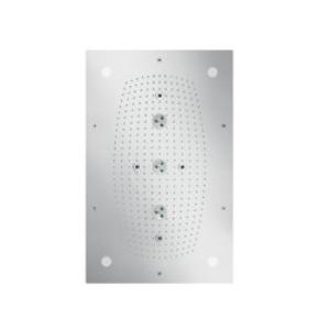 HANSGROHE - Raindance Horná sprcha 680x460 mm Air 3jet s osvetlením, chróm (28418000)