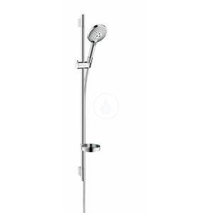 HANSGROHE - Raindance Select S Sprchová souprava 120, 3 proudy, EcoSmart 9 l/min, bílá/chrom (26633400)
