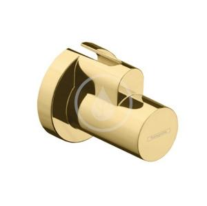 HANSGROHE - Rohové ventily Krytka, leštěný vzhled zlata (13950990)