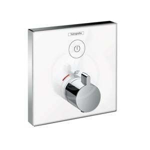 HANSGROHE - Shower Select Glass Termostatická sprchová batéria pod omietku, chróm (15737400)