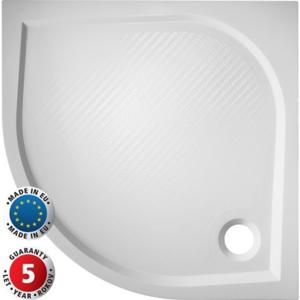 HOPA - Čtvrtkruhová sprchová vanička SOFIA - 900 x 900 x 30 mm R550, včetně panelu (výška 11 cm) (VANKSOF90N+VANKSOF90P)
