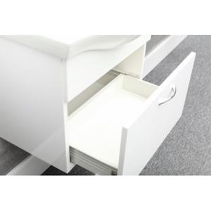 HOPA HOPA - Nábytek Viky - Viky - 80, spodní skříňka, na zavěšení, v demontu + umyvadlo Viki 80 (Basic II)., 79,5 x 46 x 17,5 cm (nábytkové) (OLNVIKI380+OLKE70802)