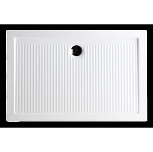 HOPA - Keramická obdélníková sprchová vanička FERDY II - Provedení - Univerzální, Šíře - 140 cm, Hloubka - 80 cm, Výška - 6,5 cm (VANKEFEII148)