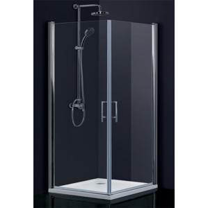 HOPA - sintra bez vaničky, chrom, čiré sklo, 85 × výška 195 cm (BCMADE285CC)