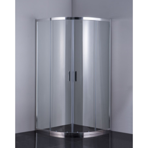 HOPA - Sprchový kout BARCELONA PLUS - 190 cm, 80 cm × 80 cm, Univerzální, Hliník chrom, Čiré bezpečnostní sklo - 6 mm (OLBPAL80CCBV)