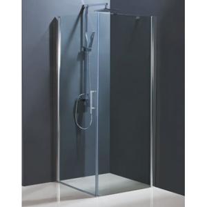 HOPA - Sprchový kout MADEIRA II KOMBI - 195 cm, Univerzální, Hliník chrom, Čiré bezpečnostní sklo - 6 mm, 85 cm, 80 cm (BCMADE285CC+BCMADE2PS80CC)